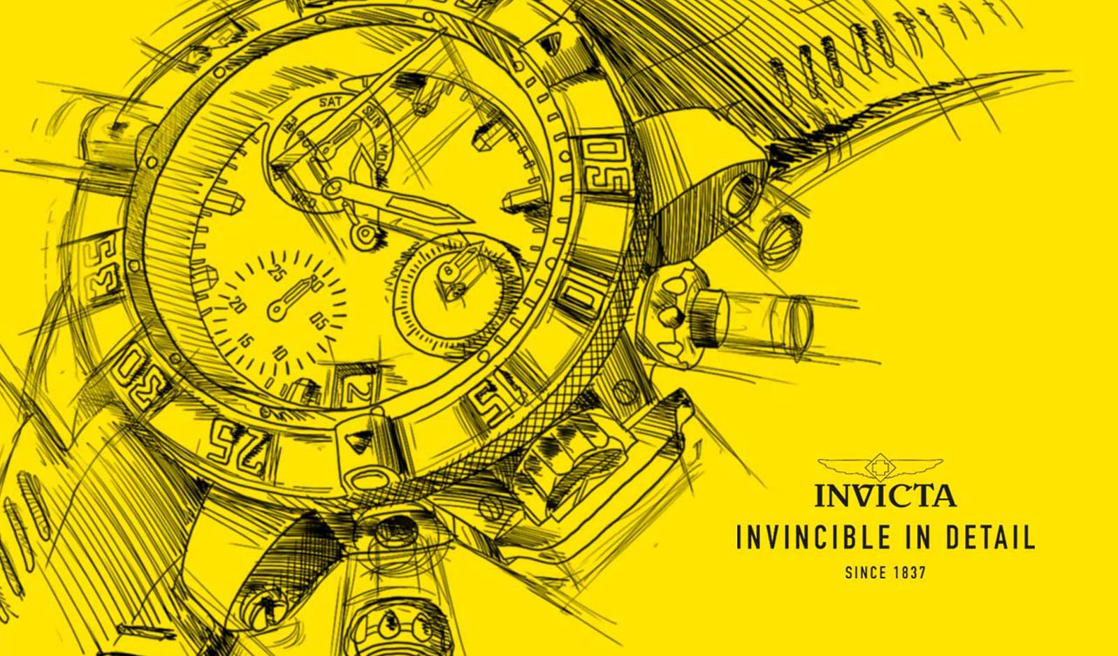 Invicta design tot in detail / Illustratie & Design
