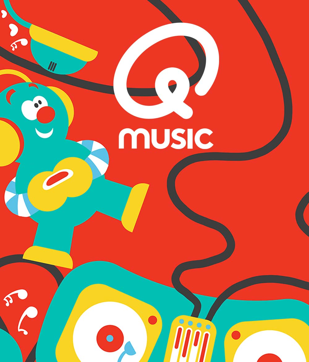 Muziek kleurt je dag / Illustratie & Concept