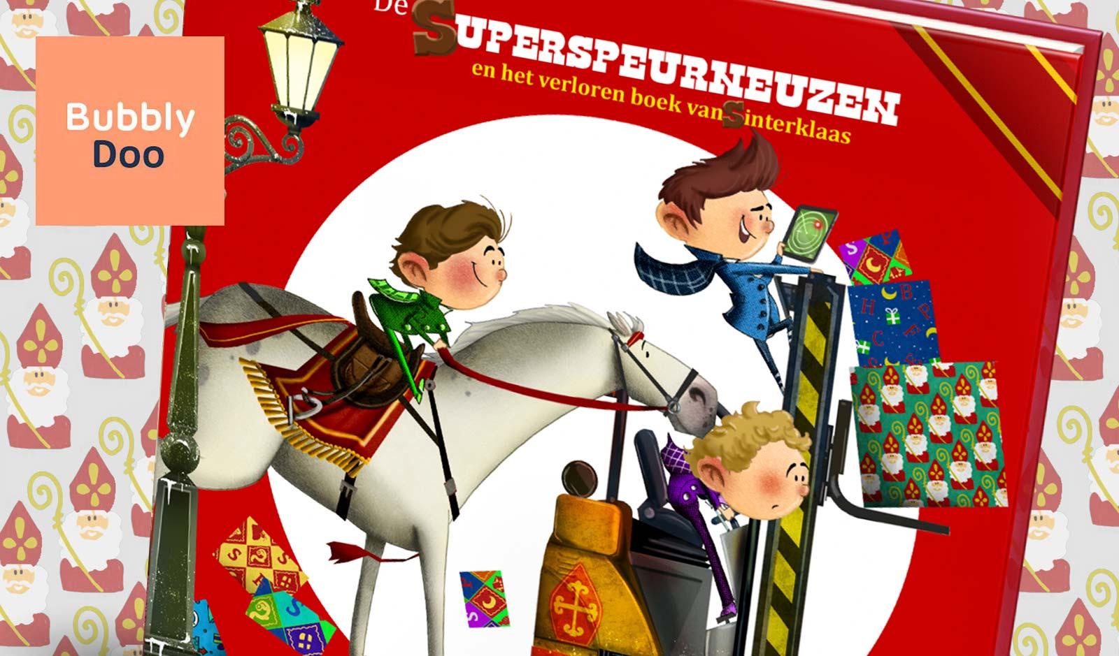 Sinterklaas kinderboek Bubbly Doo illustraties