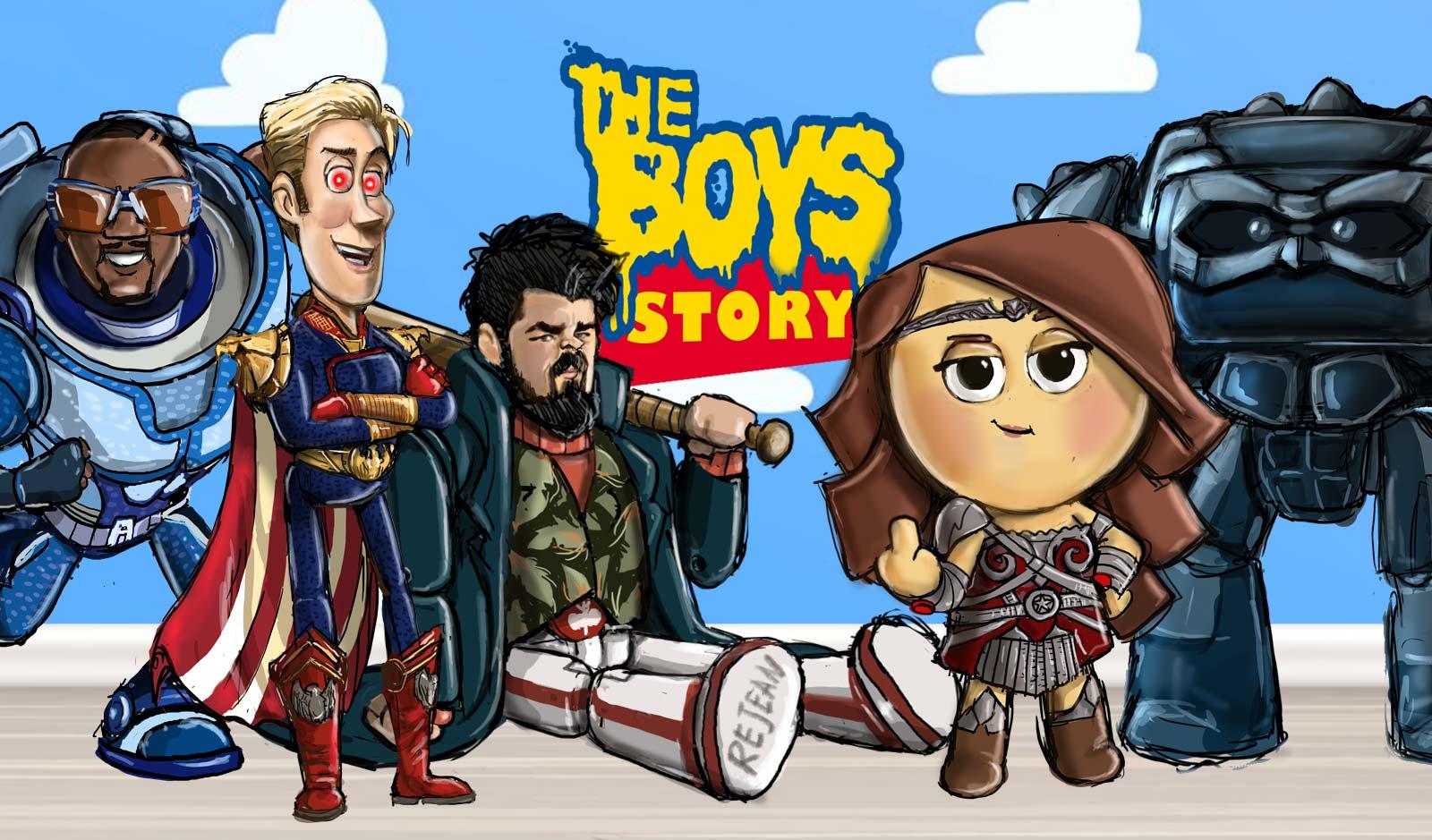 The Boys Story / Illustratie & concept