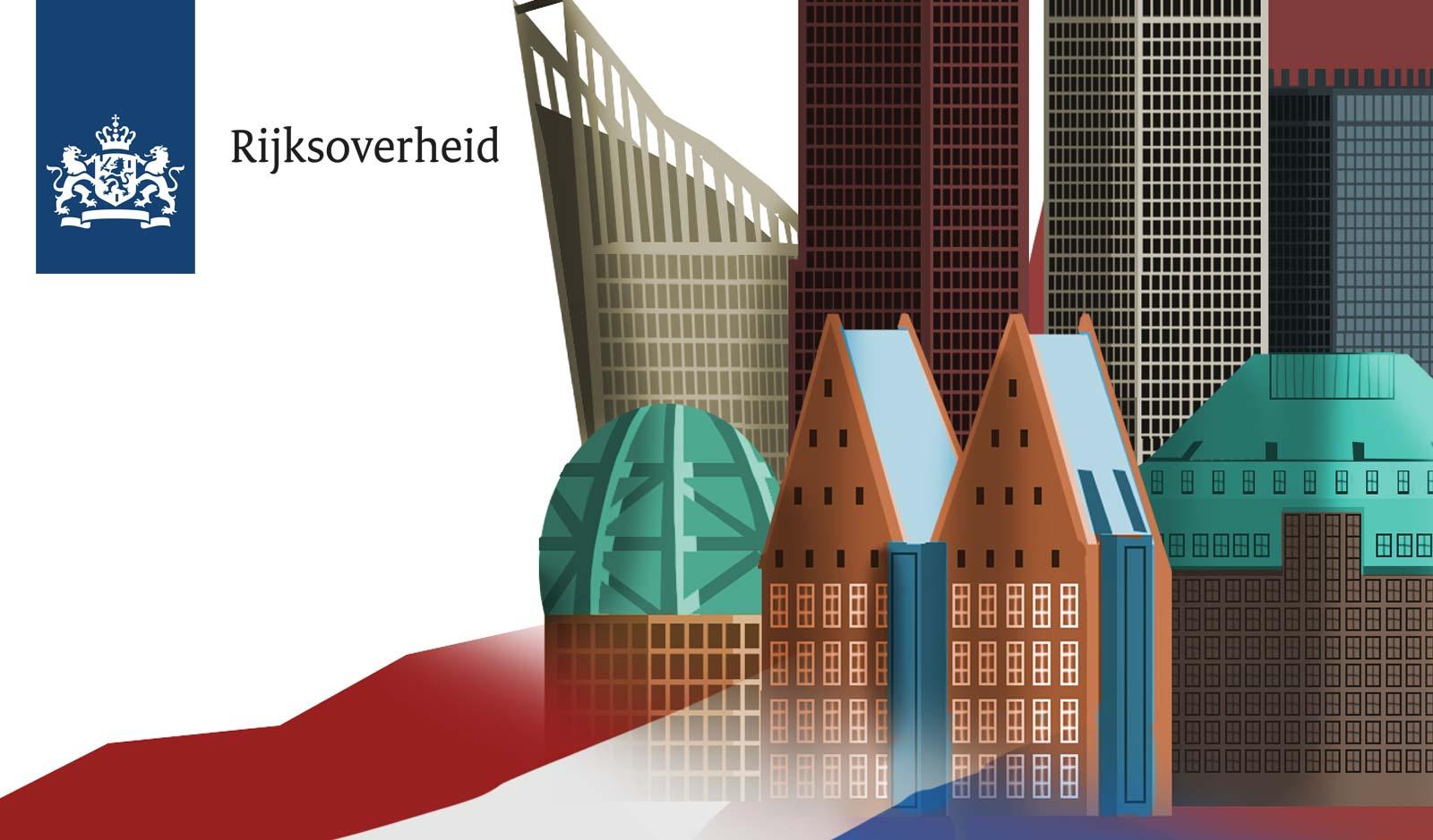 Den Haag strak vormgegeven/ Illustratie