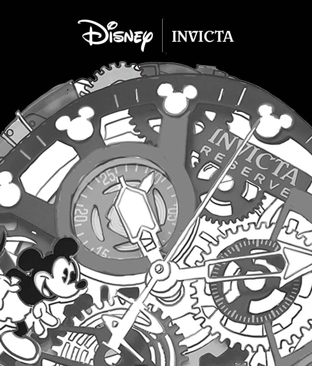 Disney x Invicta / Illustratie & Concept
