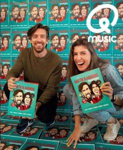 mattie en marieke qmusic vakantieboek illustraties cartoons kleurplaten